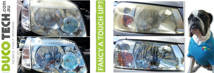 NEWCASTLE VEHICLE HEADLIGHT RESTORATION