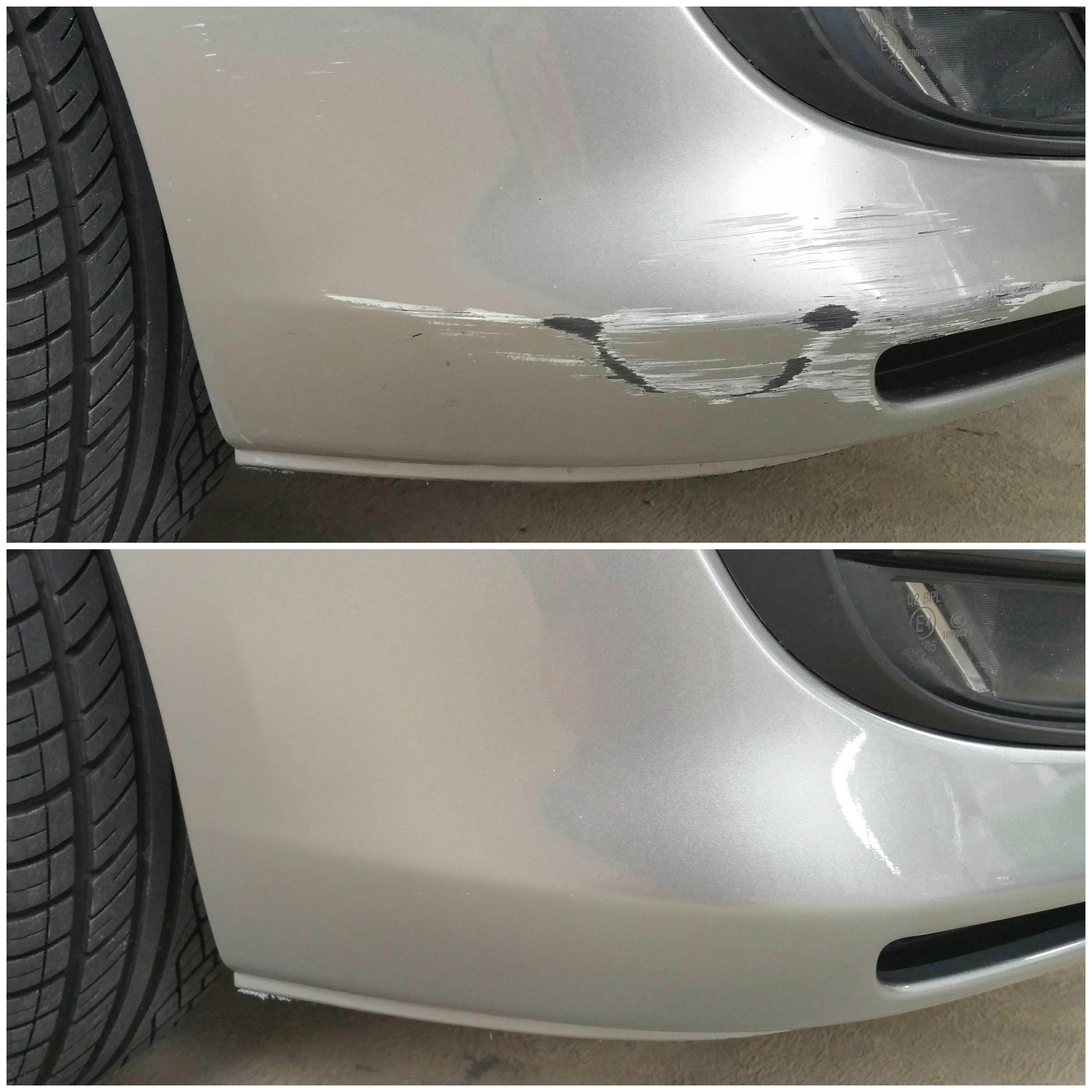 Mobile scratch and bumper repairs