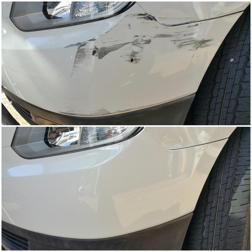 Bumper scuff/scrape /scratch